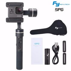 (278.90$)  Watch now - http://aiejr.worlditems.win/all/product.php?id=32803712906 - FY Feiyu SPG 360 Limitless bluetooth 3 Axis Handheld Steady Gimbal Camera Mount for Gopro iPhone 6 7 plus 5S SAMSUNG HUAWEI etc
