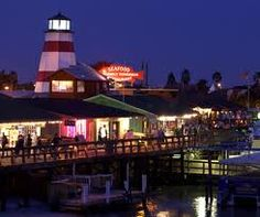 John's Pass Boardwalk, Madiera Beach Florida.. Childhood memory