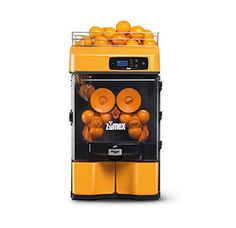 Zumex  Juicer Versatile Pro : The Zumex Versatile Pro orange juicer is designed for medium volume operations such as cafes, restaurants and juice bars producing up to 100 drinks per day.