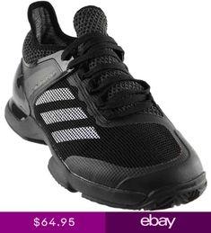 online retailer 0dce6 55215 adidas Adizero Ubersonic 2 Clay Tennis Shoes - Black - Mens