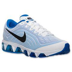 Men\u0027s Nike Air Max Tailwind 6 Running Shoes   Finish Line   White/Black/