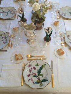 "Mi ""mesa florida"" en casa..."