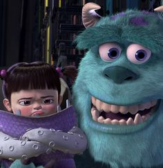 Monster's Inc - Boo's expression.