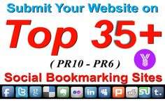 If you want a seller who can give you top QUALITY SEO Backlinks which is all Google panda Penguin friendly then, I'm your guy, I will Manually submit your website or blog or video etc links to top 35+ Social Bookmarking Sites From PR10 to PR 6 like, Twitter, Pinterest, Facebook, Reddit, StumbleUpon, Tumblr, Delicious and many more high authority sites.. Submitting manually is your best choice for your website be bookmarked properly and get indexed in Google and other search engines.