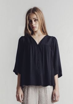 Top Allegro Subtle Stripe by RODEBJER