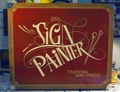 Stencilart,Sign painting,Airbrushart,Brushes,Blog & Photography ~farbeneinklang~
