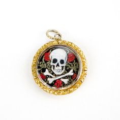 Hand-Printed Victorian Pendant, $1,360, now featured on Fab.