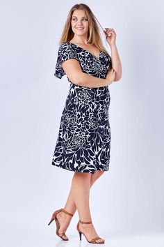 LEINA BROUGHTON - Darling Dress In Pansy