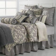 Kerrington Comforter Set Light Cream