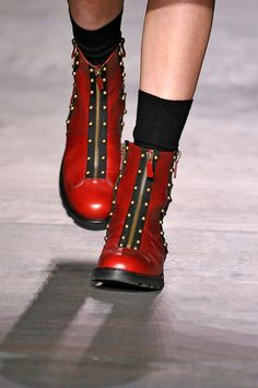 #shoes #boots Marc by Marc Jacobs F/W 2012, New York Fashion Week