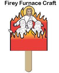 onChapter: Shadrach, Meshach, Abednego & Jesus. Crafts Part II