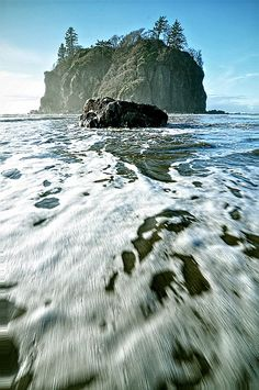 Ruby Beach Island, Olympic National Park, WA | Don Briggs