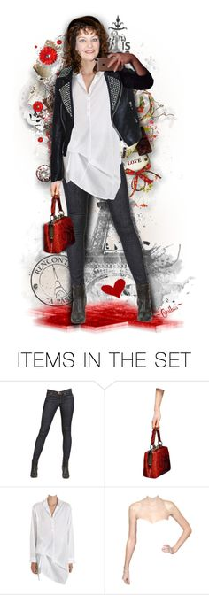 """""""❤A Paris Selfie❤"""" by cindu12 ❤ liked on Polyvore featuring art"""