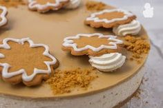 Leivontablogi Recipies, Cheesecake, Food And Drink, Sugar, Cookies, Baking, Desserts, Christmas, Recipes