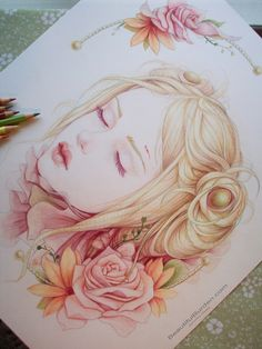 14 x 17 Faber-Castell Polychromos by Jennifer Healy. This is absolutely gorgeous.