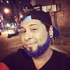 Brillos y purpurinas para #barbas esta Navidad