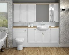 Banbury - Banbury's simple shaker style doors are so subtle and create a timelessly sophisticated bathroom.