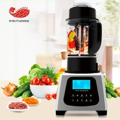 Heating blender,it is good for helper.It can make smoothie soup,peanut butter,properly crush ice for frozen drink.What is more,It is very easy than other cooking equipment as it is just one piece.You just add some soap and water into blender,blender it then wipe with dry cloth.#www.chinablender.com