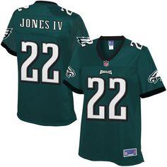 Sidney Jones Philadelphia Eagles NFL Pro Line Women's Player Jersey - Midnight Green