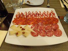 Iberian cold cuts variation @ Restaurant LOLA - Spanish Tapas