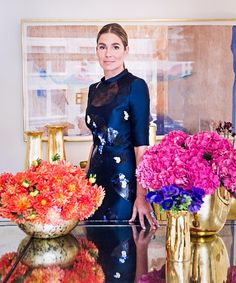 For the granddaughter of beauty icon Estée Lauder, home décor is where the heart is icon At Home With Aerin Lauder - DuJour Aerin Lauder, Dress To Impress, Style Icons, Nice Dresses, How To Look Better, Celebs, Design Inspiration, Elegant, Chic