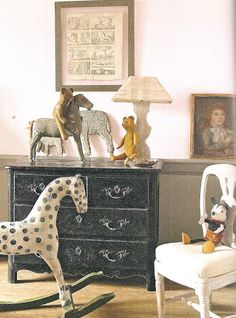 I NEED an antique rocking horse!