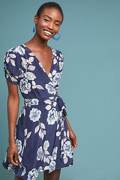 Shop new women's clothing at Anthropologie to discover your next favorite closet staple. Check back frequently for the latest clothing arrivals! Boho Outfits, New Outfits, Winter Outfits, Vintage Silhouette, Silk Wrap, Silk Dress, Dress Making, Boho Fashion, What To Wear