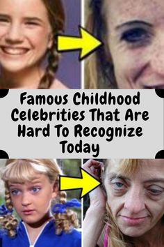 Famous Childhood Celebrities That Are Hard To Recognize Today