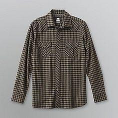 Route 66- -Men's Flannel Shirt
