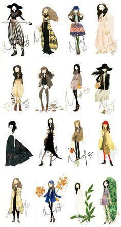 Fashion Sketchbooks, Artist Study  for Art School Students, CAPI ::: Create Art Portfolio Ideas at milliande.com Art School Portfolio, Fashion, Clothes, Design, Art, Figurative, Figure, People, Art Teacher, Art College, Study, Textiles