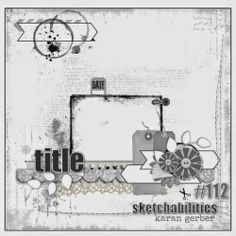 Lillybean: Precious : Sketchabilities/Off the Rails Scrapbooking (Stencils & Masks)