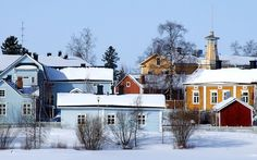 Pikisaari island near Oulu, Northern Ostrobothnia province of Finland - Pohjois-Pohjanmaa