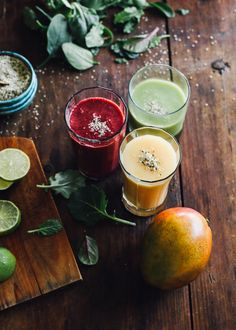 make-ahead smoothies & a wolf gourmet giveaway