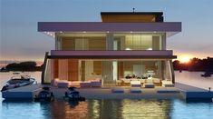 Floating Homes | architekten bda: Fuchs, Wacker.