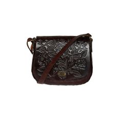 Vintage La Onda Bag ($50) ❤ liked on Polyvore featuring bags, handbags, shoulder bags, purses, accessories, bolsas, vintage handbags, shoulder handbags, hand bags and shoulder strap handbags
