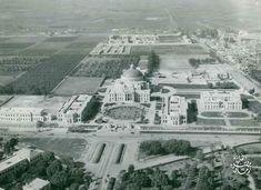 جامعة القاهرة و المنطقة المحيطة بها سنة 1942 .