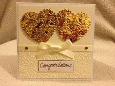 Congratulations card handmade on sale in my Zibbet shop