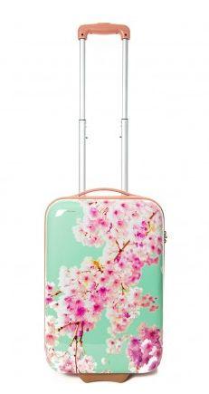 Alleen met handbagage reizen wordt extra leuk met deze geweldige bloesemkoffer. Travel Must Haves