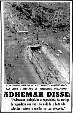 Vale do Anhangabaú - 28 de fevereiro de 1957.