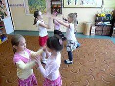 """""""Oh, Zuzanna"""", zabawa- taniec country, zabawy przy muzyce, rytmika dla d..."""