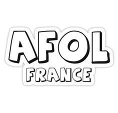 """AFOL France by Customize My Minifig"" Stickers by ChilleeW 