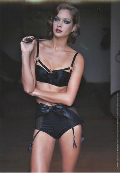 Lingerie Editorial with Bordelle and Lascivious. Edgy + Sweet. #luxurylingerie