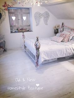 Laminate Flooring Painted With White U0026 Grey Chalk Paint Then Sanded U0026  Distressed To Look Like