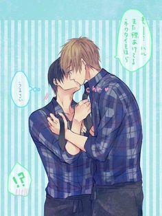 Kissuuu~ #MakoHaru @fujoshiotaku18