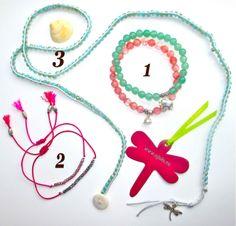 "1. Bracelet ""Pure Nature"" 2. Bracelet ""Lucky Thing""  3. Wrap bracelet ""Stella"" www.ajola.eu/shop #AJOLA®"