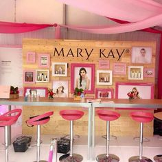Mary Kay Booth that would be awesome