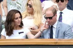 Prince William and Kate Middleton at Wimbledon Pictures 2017 | POPSUGAR Celebrity