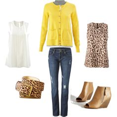 A fashion look from August 2015 featuring CAbi cardigans, CAbi blouses and CAbi jeans. Browse and shop related looks.