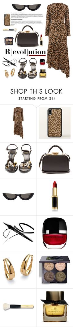 """""""Revolution-Evolution"""" by hamaly ❤ liked on Polyvore featuring Sophie Hulme, PAWAKA, L'Oréal Paris, Marc Jacobs, Palm Beach Jewelry, Chantecaille, Bobbi Brown Cosmetics, Burberry, outfit and ootd"""