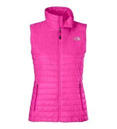 The North Face Women's Blaze Vest.I love a pink driving vest.